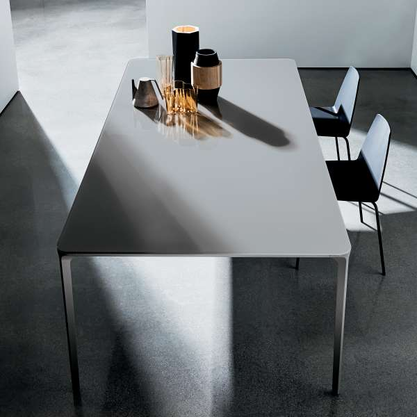 Table design rectangulaire en verre - Slim Sovet® 2 - 2
