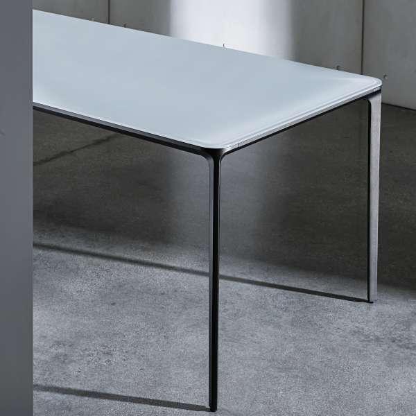 Table design rectangulaire en verre - Slim Sovet® 3 - 3