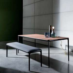 Table design plateau bois - Slim Sovet®
