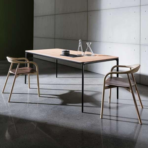 Table design plateau bois - Slim Sovet® 2 - 2