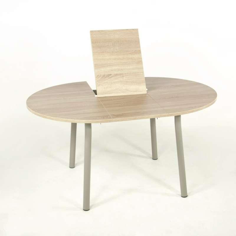 table de cuisine extensible en stratifié - elli - 4 pieds : tables
