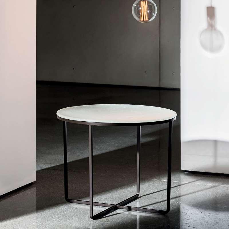 table basse ronde en verre piktor sovet 4. Black Bedroom Furniture Sets. Home Design Ideas