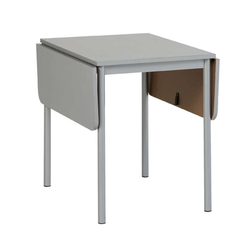 Table d 39 appoint rectangulaire extensible tkp 4 pieds for Table rectangulaire extensible