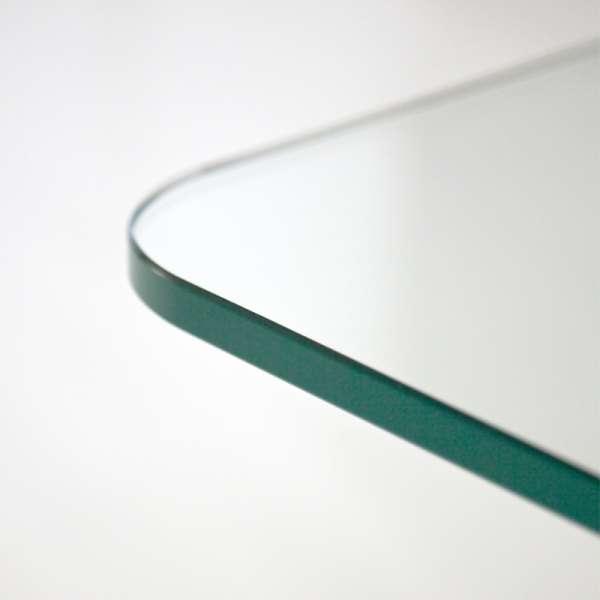 Table en verre design carrée 140 x 140 cm - Lambda Sovet® 8 - 8