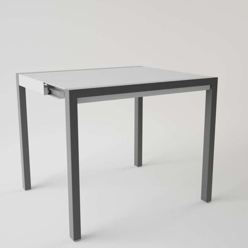 Table en verre extensible pour petit espace concept minor 4 pieds tables chaises et tabourets - Table a repasser qui repasse toute seule ...