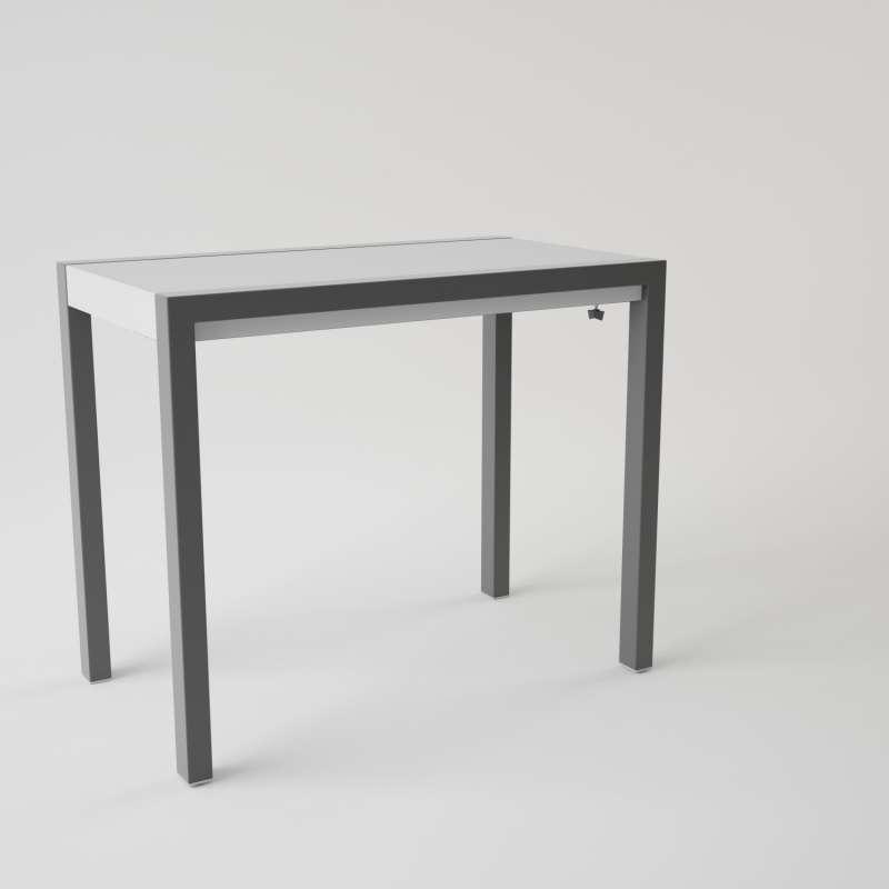 table en verre extensible pour petit espace concept minor 4 pieds tables chaises et tabourets. Black Bedroom Furniture Sets. Home Design Ideas