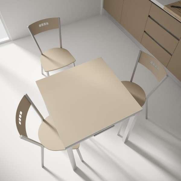 Table petit espace extensible en verre - Domino 9 - 7