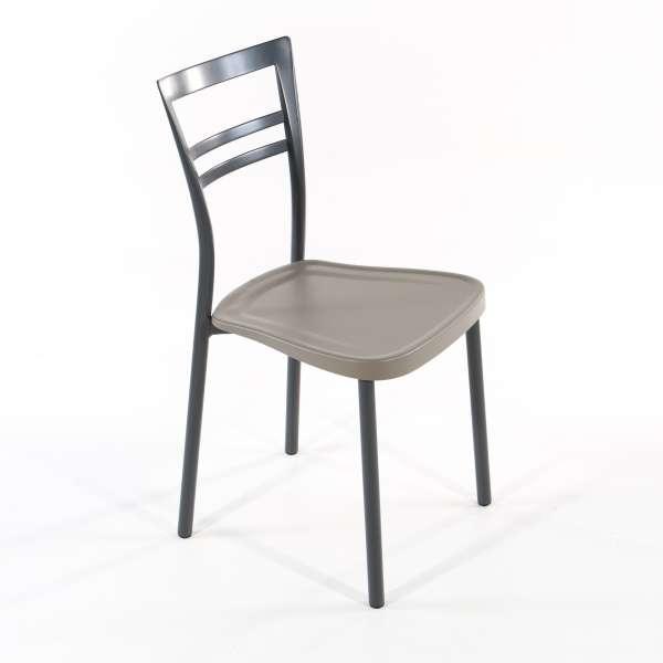 chaise de cuisine en polypropyl ne et m tal go 1419 4 pieds tables chaises et tabourets. Black Bedroom Furniture Sets. Home Design Ideas