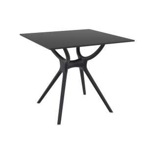 Table carrée petit espace en stratifié et polypropylène - Air 2