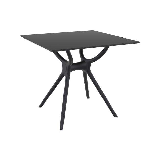 Table carrée petit espace en stratifié et polypropylène - Air 2 - 1