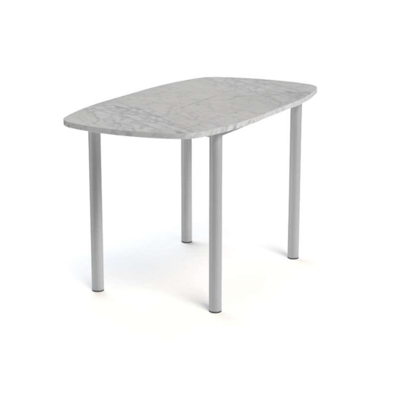 Table snack de cuisine extensible en stratifi lustra for Table extensible 4 pieds