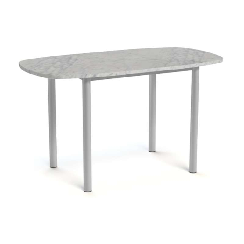 Table snack de cuisine extensible en stratifi lustra for Table de cuisine extensible