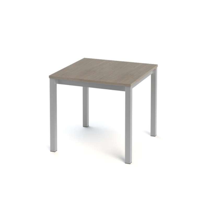 table de cuisine carr e en stratifi vienna 4. Black Bedroom Furniture Sets. Home Design Ideas