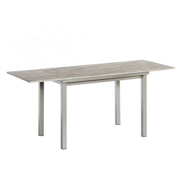 Table de cuisine extensible en stratifi vienna 4 for Table extensible 80 cm de large