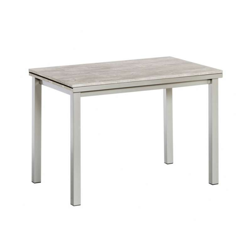 Table de cuisine extensible en stratifi vienna 4 for Table extensible 4 chaises