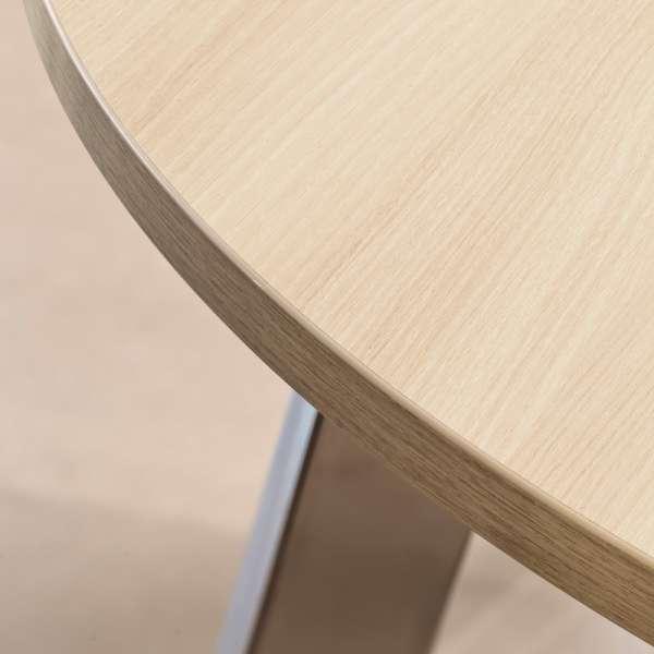 Table de cuisine ovale en stratifié - Elias 3 - 3