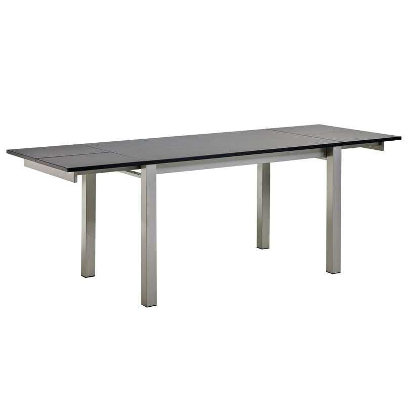 Table snack de cuisine extensible en stratifi alicante for Table extensible 4 pieds
