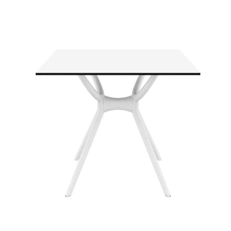 Table De Terrasse Carr E En Stratifi Et Polypropyl Ne