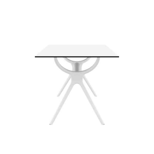 Table rectangulaire en stratifié et polypropylène - Air 8 - 8