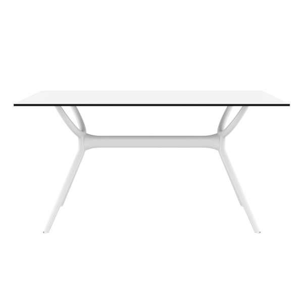 Table rectangulaire en stratifié et polypropylène - Air 6 - 6