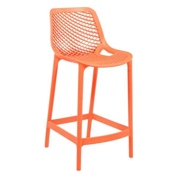 tabouret moderne en polypropyl ne air 4 pieds tables chaises et tabourets. Black Bedroom Furniture Sets. Home Design Ideas