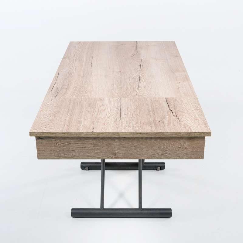 table relevable avec allonges compact 5 15 - Table Reglable En Hauteur Avec Rallonge
