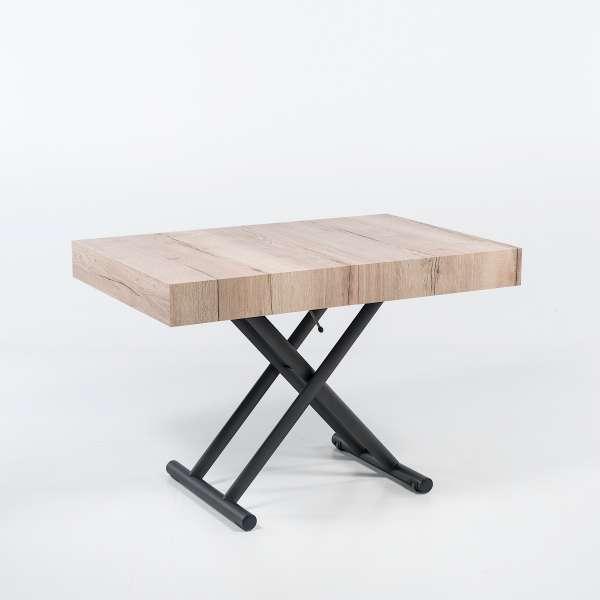 table modulable en hauteur trendy table salon modulable hauteur choisir le meilleur design de. Black Bedroom Furniture Sets. Home Design Ideas