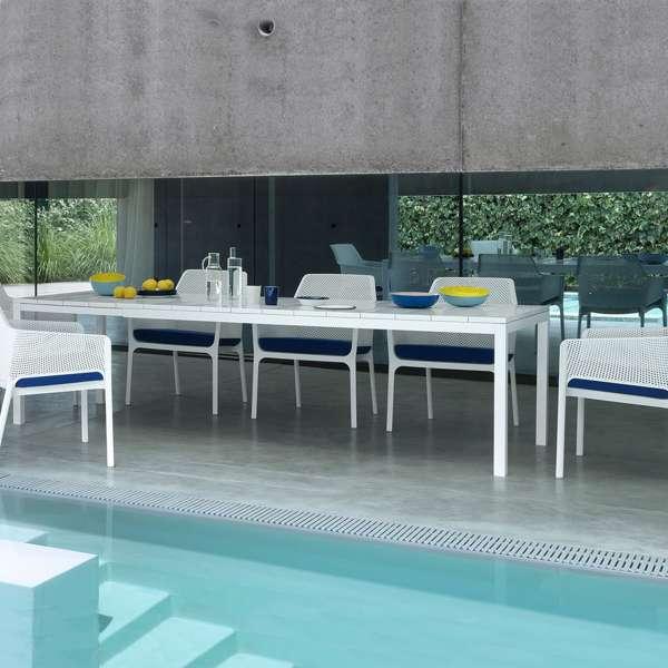 Table de jardin extensible en polypropylène DurelTop et aluminium ...