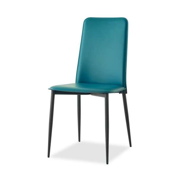 Chaise en croûte de cuir -  Ely-Plus 11 - 11