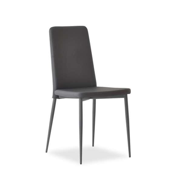 Chaise moderne italienne en synthétique - Ely Plus