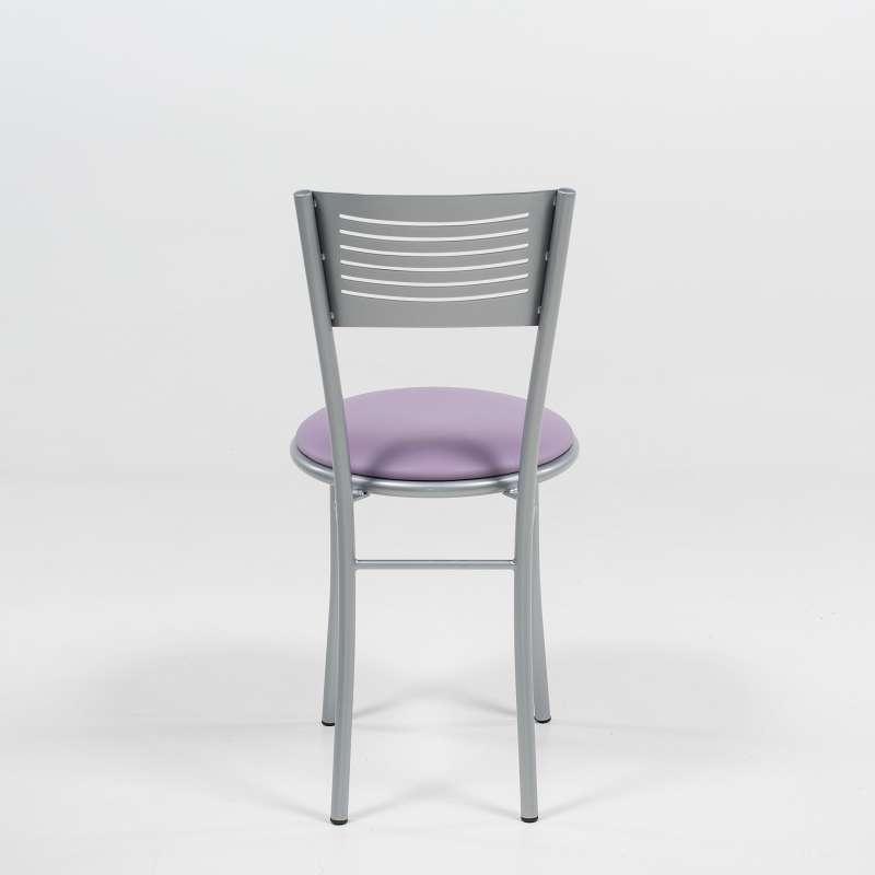 petite chaise de cuisine r233tro en m233tal et synth233tique
