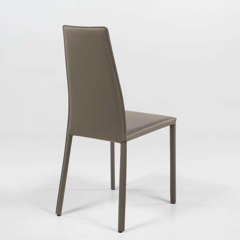 Chaise de s jour moderne en synderme monica 4 pieds for Chaise sejour but