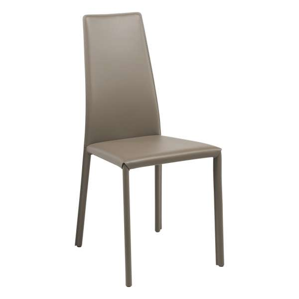 chaise de s jour moderne en synderme monica 4 pieds