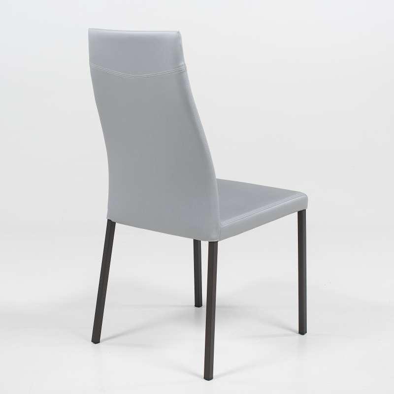 chaise de s jour contemporaine en synth tique lena 4. Black Bedroom Furniture Sets. Home Design Ideas