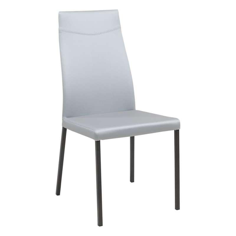 chaise de s jour contemporaine en synth tique lena 4 pieds tables chaises et tabourets. Black Bedroom Furniture Sets. Home Design Ideas