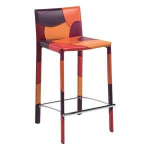 tabouret en cuir 4. Black Bedroom Furniture Sets. Home Design Ideas