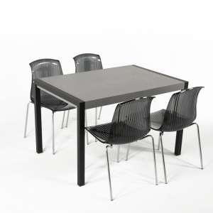 Table en céramique extensible - Concept bois 12