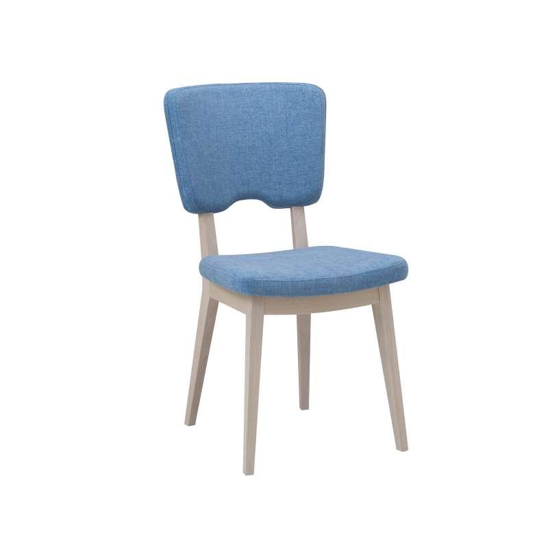 chaise cocooning en tissu et bois cocoon 4 pieds