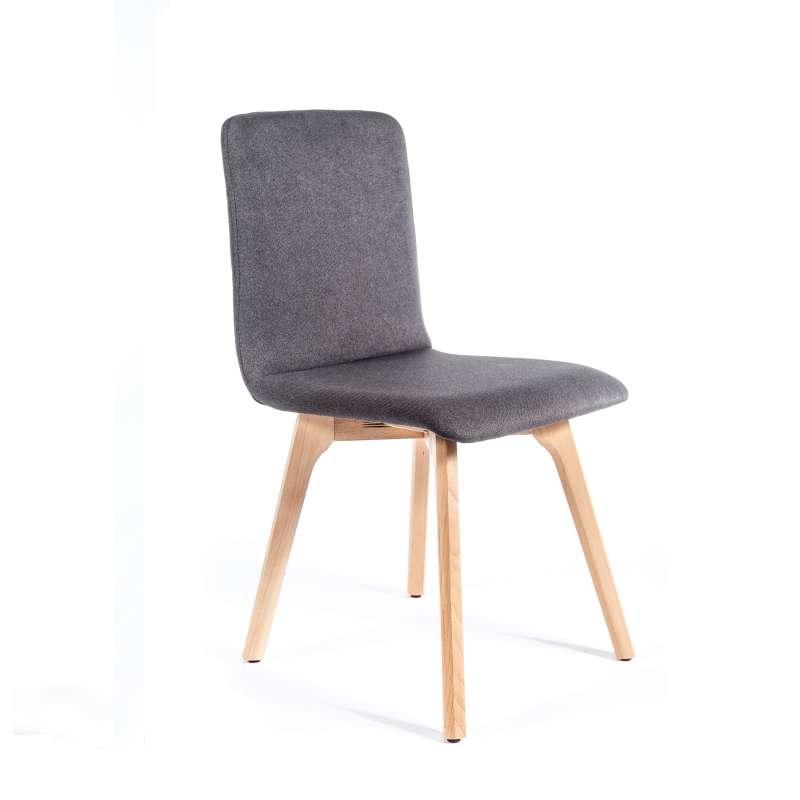chaise de sjour scandinave en tissu plaza 2 4 - Chaise Sejour