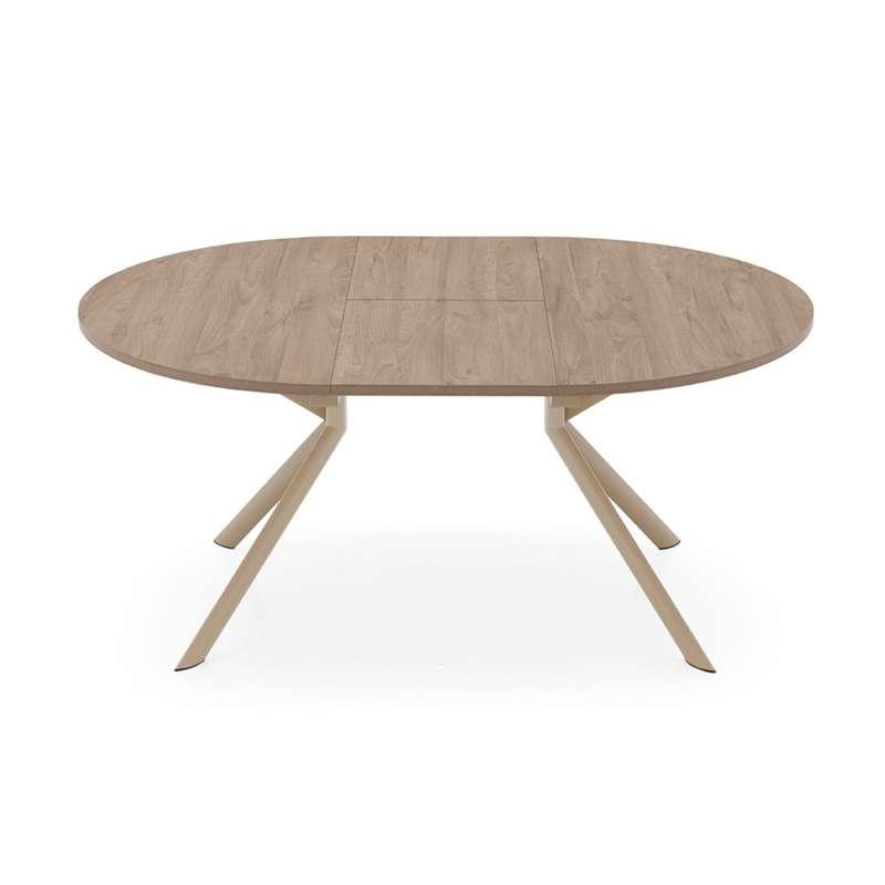 table ovale extensible en m lamin giove connubia 4. Black Bedroom Furniture Sets. Home Design Ideas