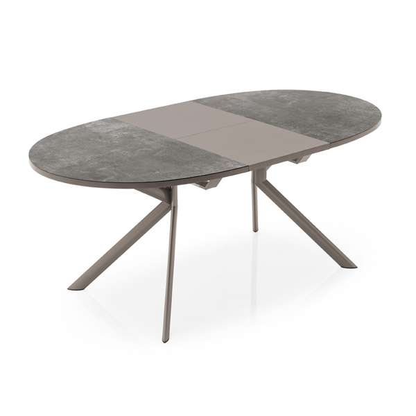 Table ovale extensible en céramique - Giove Connubia®