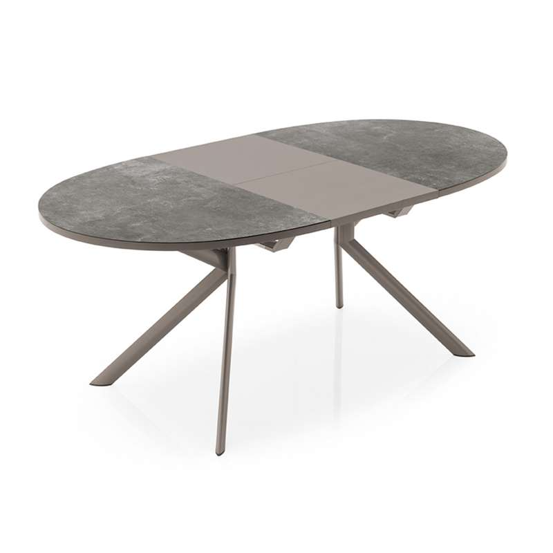table ovale extensible en c ramique giove connubia 4