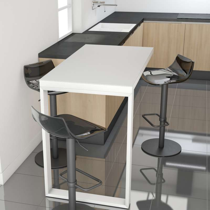 table snack mobile en c ramique et m tal free 4. Black Bedroom Furniture Sets. Home Design Ideas