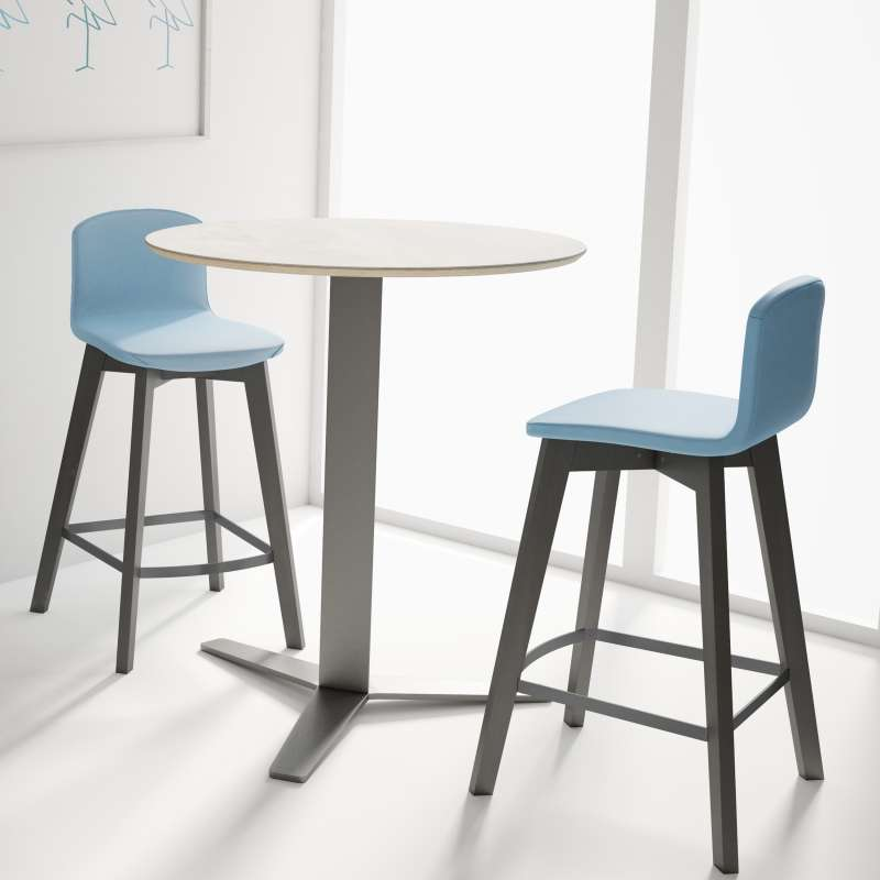 table snack ronde moderne en verre peliccan 4. Black Bedroom Furniture Sets. Home Design Ideas