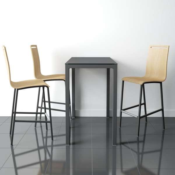 Table rectangulaire moderne en c ramique logic 4 pieds for Table en ceramique rectangulaire