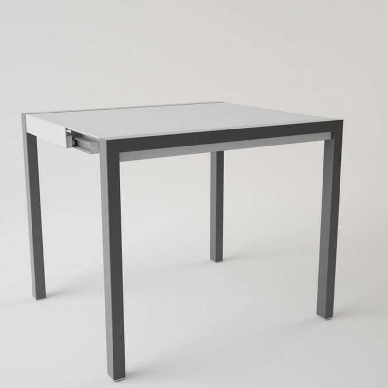 table en c ramique extensible pour petit espace concept minor 4. Black Bedroom Furniture Sets. Home Design Ideas