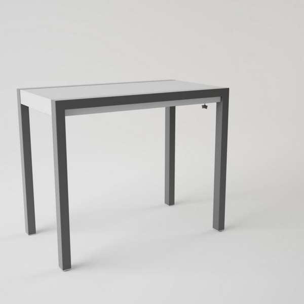 table en c ramique extensible pour petit espace concept minor 4 pieds tables chaises et. Black Bedroom Furniture Sets. Home Design Ideas