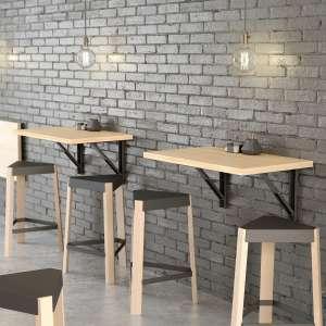 table pliante au mur gallery of sobuy table de cuisine table murale rabattable en bois cmblanc. Black Bedroom Furniture Sets. Home Design Ideas