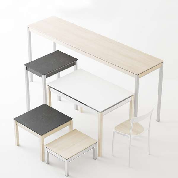 table sur mesure personnalisable en m lamin multipla 4. Black Bedroom Furniture Sets. Home Design Ideas