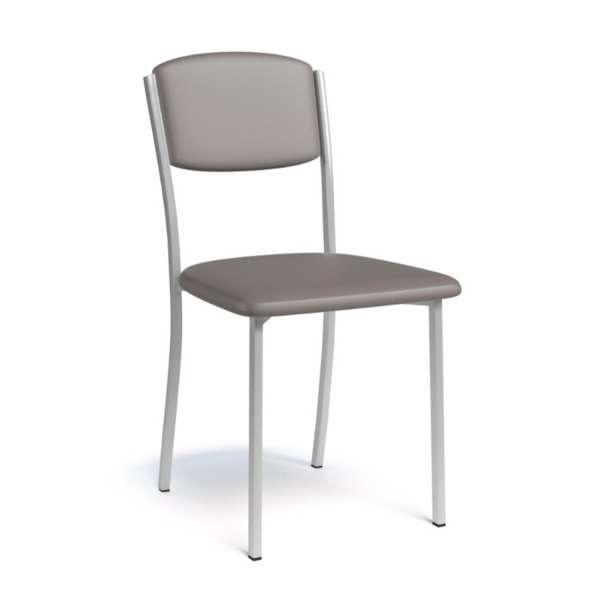 chaise de cuisine contemporaine en synth tique et m tal brava 4. Black Bedroom Furniture Sets. Home Design Ideas